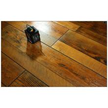 Plancher stratifié résistant à l'eau d'érable gratté par main de 12.3mm