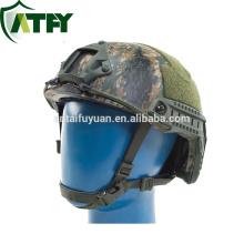Casco a prueba de balas FAST US Standard NIJ IIIA Casco balístico Kevlar para militares