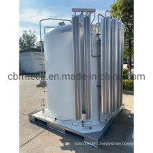 Welded Insulated Cylinders Liquid Oxygen Storage Tanks Microbulk Tanks