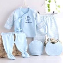 Trajes de bebé del desgaste del bebé de algodón de alta calidad.