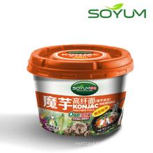 Végétarienne Konjac Shirataki Instant Cup Noodle