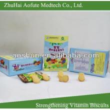 Renforcement des vitamines et des biscuits