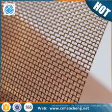Papierherstellung Phosphorbronzedrahtmasche für das Filtern des Gewebes