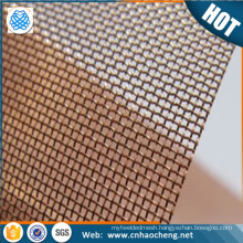 Paper making phosphor bronze wire mesh for filtering fabric
