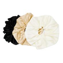 chouchous en soie 16mm 9cm largeur chouchous en soie noir