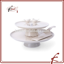 2 tier wedding cake holder bird cake decoration