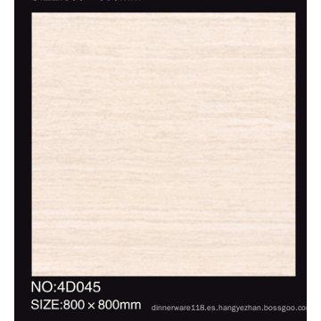 600X600 hecho en China Baldosa de cerámica pulida sal soluble del grado AAA