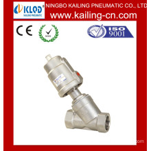 2 Way Pneumatic Stainless steel good price Angle Valve