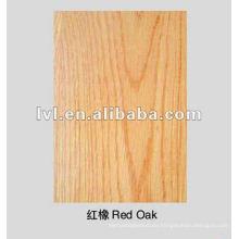 Rote Eiche 1220 * 2440mm Hartkernsperrholz