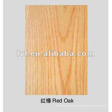 red oak 1220*2440mm Hard core plywood