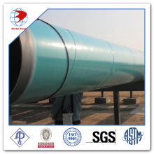 FBE eksternal dilapisi SSAW Carbon Steel Pipe