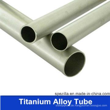 China Fertigung Gr1 Titan Tube (ASTM B338)