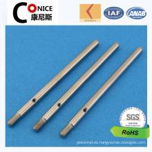 Eje de precisión que trabaja a máquina del CNC de la fábrica de ISO