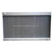 Высокоэффективный теплообменник с пластинчатым ребрами для компрессора CNG