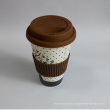 (BC-C1037) Eco Bamboo Fiber Coffee Cup avec impression