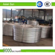 Aluminio desnudo 9,5 mm, biela de cables eléctricos