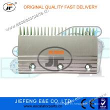 JFThyssen AVANT Lámina de la placa del peine de la escalera X26032398 L = 191 * W115.5mm, placa del peine de la escalera 22T