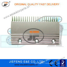 JFThyssen AVANT Escalator Peigne Plaque de peigne Côté droit X26032398 L = 191 * W115.5mm, 22T Plaque de peigne d'escalator