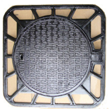 Square Frame Ductile Cast Iron Manhole Cover