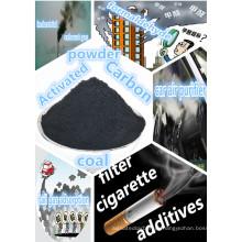 Carvão ativado a base de carvão de alta qualidade para filtro de ar