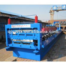 forward steel glazed roof tile forming machine