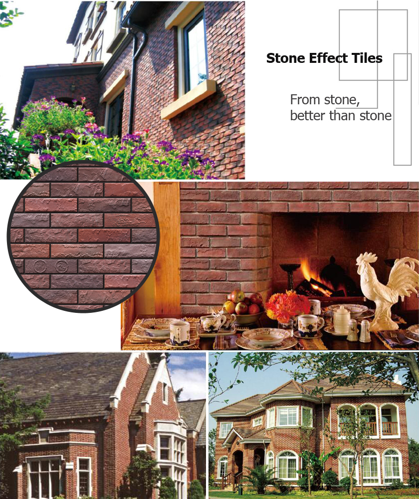dry stone wall effect tiles