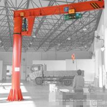 2015 Nueva Columna Fija Slewing Container 1ton JIb grúa Pedestal Crane