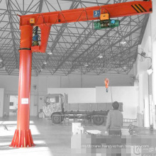 2015 New Fixed Column Slewing Container 1ton JIb crane Pedestal Crane