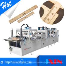 Дешевый автоматический деревянный линейный принтер для печати на тампо-панели