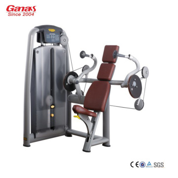 Gym Komersial Profesional Duduk Triceps Extension