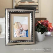High quality silver gold  ps moulding picture frame