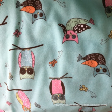 100%Cotton Flannel Printed for Pajamas