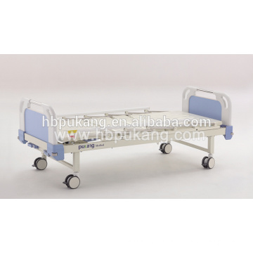 2 cranks manual hospital bed for hospital equipment from China