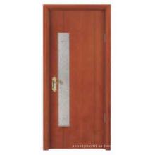 Puerta de madera sólida del nuevo estilo de la venta caliente