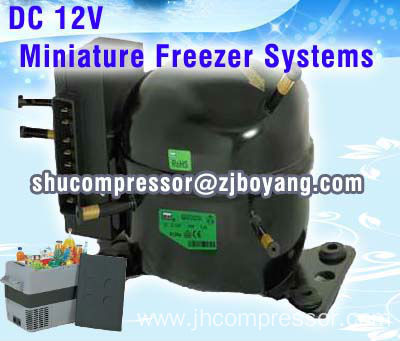Secop Type Bd35f Compressor For Marine Air Conditioning