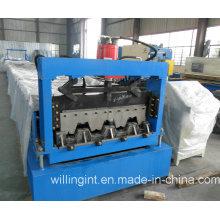 Machine de formage de rouleaux de platelage de plancher en acier inoxydable de construction CE