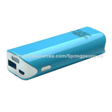 2014 New Most Popular Mobile Power Bank with LED Flashlight and Triple Safety Protection