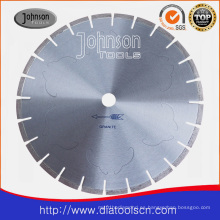 Lámina de bajo nivel de ruido: 350 mm Laser Diamond Saw Blade
