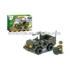 Building Blocks Military Toy