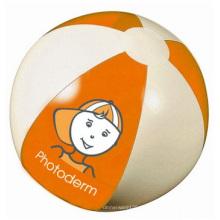 Pelota de playa inflable, pelotas de playa inflables del PVC para hacer publicidad
