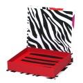 Buchform Bedrucktes Verpackungspapier Magnetische Geschenkbox