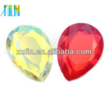 Wholesale high quality teardrop crystal fancy stone
