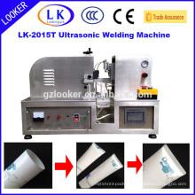 ultrasonic plastic tube welidng machine for cream tubes