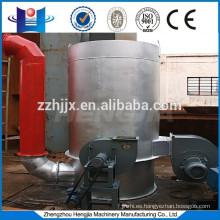 estufa de aire caliente vertical conecta con equipo de sequía