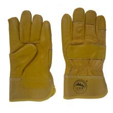 Kuh Korn Leder Handschuhe für das Fahren