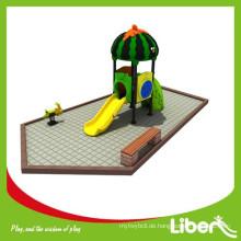 2015 Outdoor Spielzeug Kleine Plasic Outdoor Spielplatz Rutschen für Kinder