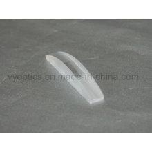 Lente cilíndrica convexa doble de vidrio óptico Jgs1