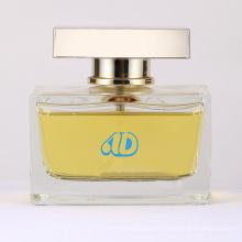 Ad-P10 cadeau spécial verre carré bouteille de parfum 100ml 25ml