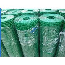 Malla de alambre soldada con autógena revestida PVC del PVC de la venta caliente de la fábrica (TS-E46)