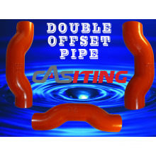 Dn100 Double Offset Pipe Cast Iron Fitting